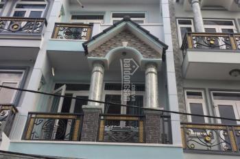 Chính chủ bán nhà HXH 81/44 Nguyễn Cửu Vân, quận Bình Thạnh DT 4.5x10m trệt 3 lầu nhà mới 7.5 tỷ