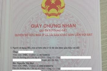 Cần bán lại căn hộ 2 phòng ngủ 93m2 - BC Đông Nam chung cư Duyên Hải Bộ Quốc Phòng, giá 10,5tr/m2