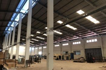 Cho thuê xưởng Bàu Bàng, 2ha có 1.6ha nhà xưởng, 200m2 VP. Giá 37.18 nghìn/m2, 0966376829
