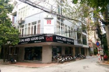 Giá siêu rẻ, tòa nhà 5 tầng x 90m2, mặt phố Nguyễn Khánh Toàn, lô góc, vỉa hè 20m