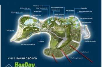 Chuyển nhượng lô ven đồi, khu Suối Xanh, Hòn Dấu Resort, Đồ Sơn, Hải Phòng