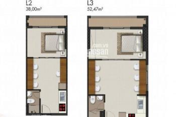 Bán căn L3-10 DT 52m2, giá 1,4 tỷ + chênh lệch thấp. OfficeTell Richmond LH 0903379118