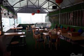 Chính chủ cho thuê tầng thượng tòa nhà văn phòng số 262 Lê Trọng Tấn làm quán cafe