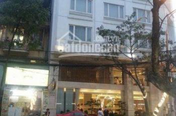 Bán tòa nhà 10 tầng, phố Trần Thái Tông, sổ đỏ 150m2, mặt tiền 9m, 59 tỷ, call 0989458421