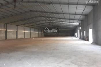 Cho thuê xưởng tại thành phố Bắc Giang, diện tích 1300m2