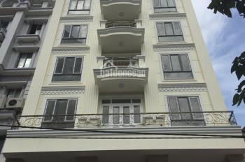 Bán tòa 9 tầng, mặt tiền 12m, MP Cát Linh, An Trạch, DT 100m2, giá 43 tỷ, 0989458421