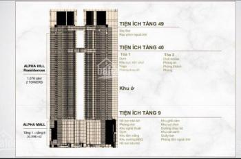 Mở bán căn hộ trung tâm Quận 1, ngay chợ Bến Thành, mỗi tháng thanh toán 1,5%, ký HĐ chỉ 15%