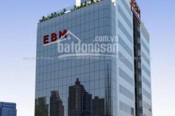 Cho thuê văn phòng, EBM Tower, đường Ung Văn Khiêm, quận Bình Thạnh, DT 120m2, LH 0967240941