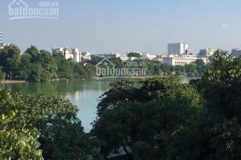 Bán căn nhà nhìn ra hồ Hoàn Kiếm, phố Lê Thái Tổ vô cùng đặc biệt và hiếm 0983739032