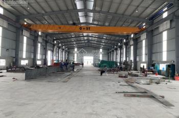 Cho thuê kho xưởng 1000m2 đến 20000m2 tại Văn Giang, Hưng Yên, cách cầu Thanh Trì, Hà Nội 8km