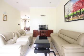 Cho thuê biệt thự 4 phòng ngủ, đầy đủ nội thất, khu vực yên tĩnh, giá 30 triệu/th