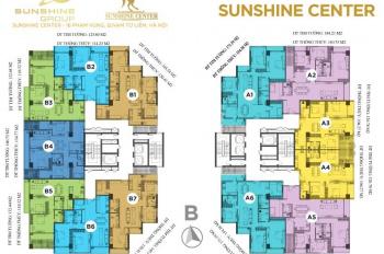 Bán căn hộ 113m2, 2PN CC cao cấp Sunshine Center 16 Phạm Hùng bàn giao quý II/2019