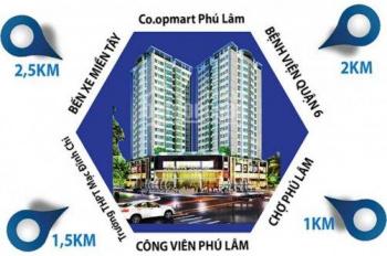 Bán căn hộ 243 Tân Hòa Đông 2PN/1,3 tỷ/56m2 nhận nhà ở ngay
