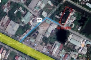 Trí BĐS, nhà đất 20mx60m= 1.200m2 (400m2 ODT + 800m2 CNL), lô sau đường Trần Văn Giàu, giá tốt