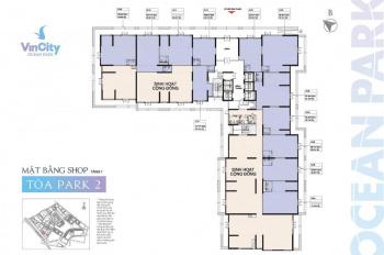 Nhượng suất mua shop, shophouse dưới chân tòa chung cư Vincity Ocean Park, 0946928689