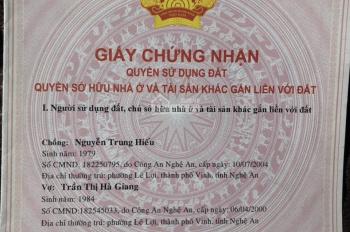 Chính chủ bán gấp chung cư TTTM Lutos House căn 61.5m2, đường Quang Trung, TP Vinh, 720 triệu