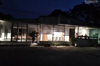 Cho thuê biệt thự nhà vườn đường 1 khu F 361 An Dương, thiết kế kiểu Nhật 120m2, để ở và làm VP