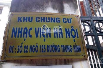 Bán chung cư tầng 2 Nhạc Viện Hà Nội, ngã tư Trung Kính Vũ Phạm Hàm, DT 100m2
