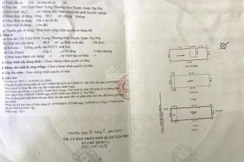 Bán nhà MT Trịnh Đình Trọng, 4x14m, 2L+ST. 7,6 tỷ