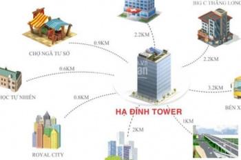 Bán căn hộ chung cư tại số 143 ngõ 85 Hạ Đình Tower giá rẻ nhất liên hệ: 096.161.7898