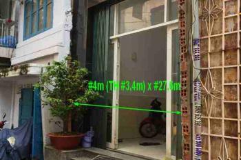 Chính chủ bán nhà 202/91 Phạm Văn Hai, P5, Tân Bình. Đang cho thuê 14 phòng, diện tích 4x27m