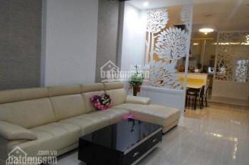 Cho thuê nhà 2 MT Trần Trọng Cung, ngay Vincom, Q7, DT 5x24m, 4 làu, đầy đủ nội thất, giá 39 tr/th