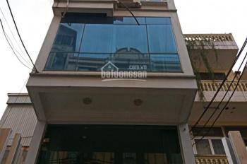 Cho thuê nhà phân lô ngõ Trung Kính, Yên Hòa, Cầu Giấy, HN, DT 112m2,5 tầng, 1 hầm, MT 6m. Giá 55tr