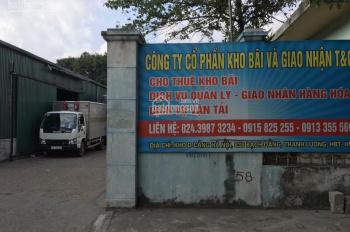 Cho thuê kho bãi tại cảng Hà Nội