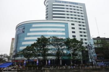 Cho thuê văn phòng tòa nhà Hàn Việt Tower từ 200m2 đến 1200m2, giá 280 nghìn/m2/tháng