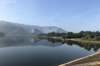 Bán đất tách lô 4000m2 và 3900m2 đất mặt hồ Đồng Chanh, Lương Sơn, giá rẻ