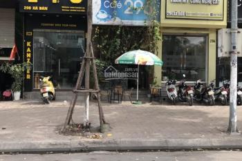 Cho thuê cửa hàng mặt phố Chùa Láng 80m2, 2 tầng, MT 4m, giá 50tr/th, vị trí hót nhất phố