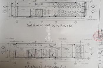 Chính chủ cho thuê nhà 1 trệt, 4 lầu, 1 sân thượng, HXH, thiết kế nội thất cơ bản nhà mới 100%