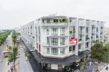 Bán nhà trong KDC Vạn Phúc, 110m2, 1 hầm, 3 lầu, sân thượng giá 8.5 tỷ, LH: 0931422456