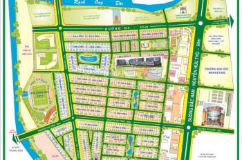 Bán nhà mặt tiền đường Số 9 khu dân cư Him Lam Kênh Tẻ Quận 7, DT: 150m2, giá: 20,8 tỷ