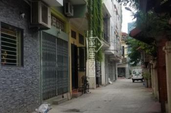 Nhà đất 4 tầng khu phân lô Nguyễn Thượng Hiền, P. Yết Kiêu, Hà Đông. Khu phân lô 2 mặt tiền ngõ