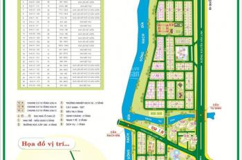 Bán nhà 1 trệt 3 lầu khu dân cư Sadeco ven sông, p. Tân Phong, Quận 7, DT: 90m2, giá: 10.6 tỷ