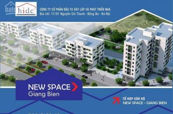 Chính chủ cần bán căn góc chung cư new space giang biên no9,đã nhận nhà mới xây,dt 74m2-0946868815
