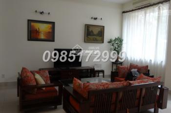 Cho thuê biệt thự 4 phòng ngủ đủ đồ ở khu đô thị Nam Thăng Long - Ciputra Hà Nội, LH 0985 172 999
