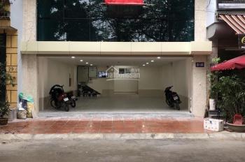 Cho thuê mặt bằng/kinh doanh tầng 1 trong tòa nhà 7 tầng đẹp nhất phố Kim Đồng, DT 60m2, MT 7.5m
