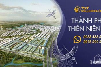 Bán đất nền dự án T&T Millennia City Long Hậu. Vị trí đẹp, giá tốt, đầu tư hay là mua ở đều có lời