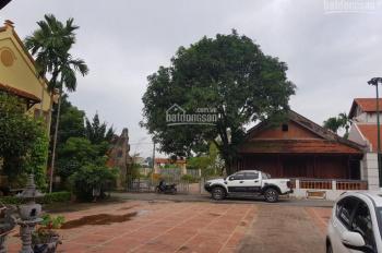 Siêu biệt thự cổ 1470m2 sổ đỏ thổ cư khu sinh thái Sóc Sơn, gần sân bay