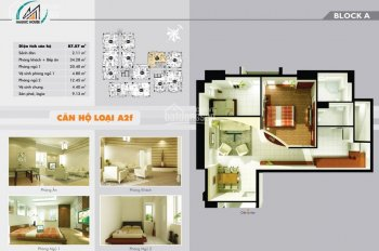 Bán căn hộ CC TDH Trường Thọ 2PN + 2WC, 87.6m2, tầng 13, đã có sổ hồng