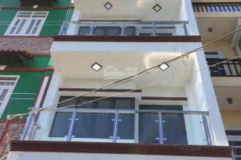 Bán nhà hẻm 67 Đào Tông Nguyên, thị trấn Nhà Bè, DT 4 x 12.5m, trệt 2 lầu, sân thượng, giá 4.25 tỷ