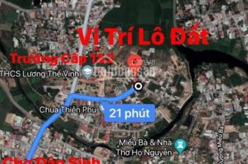 Bán lô đất Vĩnh Thạnh sau lưng trường Lương Thế Vinh. LH: 091190 6869