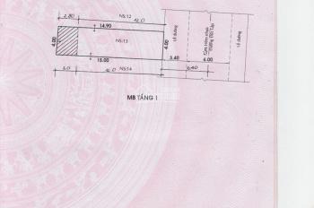 Bán nhà đường 13m Cư Xá Độc Lập 4x15m, vuông vức giá không thể rẻ hơn
