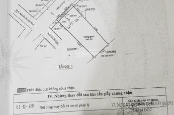 Bán đất có nhà nát HXH Tôn Thất Tùng, P. Phạm Ngũ Lão, Q1, 7x20m, 144,9m2, gọi 098 995 2837