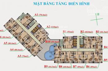Bán gấp CH Garden Hill 99 Trần Bình căn A-1603(70m2) và B-1506(89m2), giá 25tr/m2, 0983142218