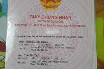 Bán nhà 2 tầng, 33m2, giá 2.2 tỷ, Bế Văn Đàn, Hà Đông, Hà Nội
