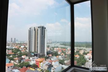 Chính chủ cần cho thuê căn góc 1 phòng ngủ đầy đủ nội thất cao cấp view sông Landmark 81 trực diện
