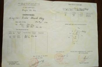 Sổ đỏ tên CC cần bán đất thổ cư có ao, vườn (loại đất ở nông thôn) xã Mai Đình.Tiếp và trích % MG